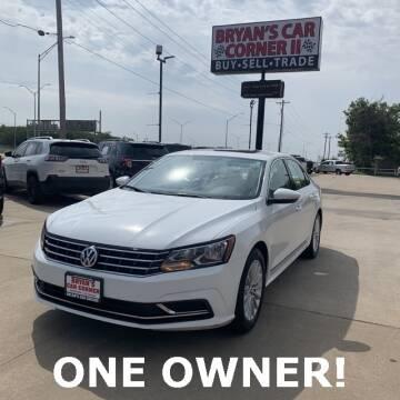 2017 Volkswagen Passat for sale at Bryans Car Corner in Chickasha OK