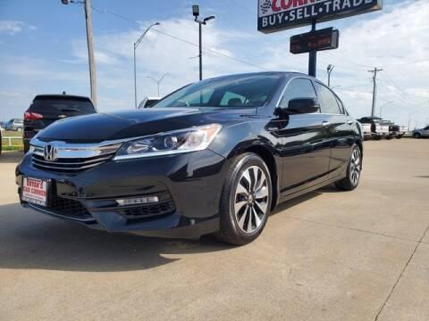 2017 Honda Accord Hybrid for sale at Bryans Car Corner in Chickasha OK