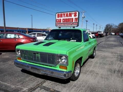 1978 Chevrolet C/K 10 Series for sale at Bryans Car Corner in Chickasha OK
