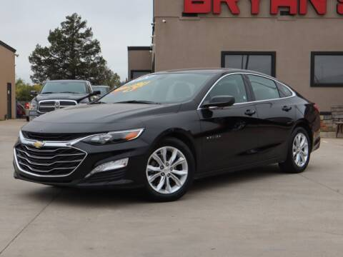 2020 Chevrolet Malibu for sale at Bryans Car Corner in Chickasha OK