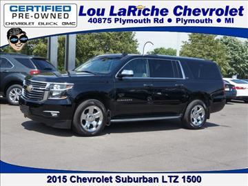 2015 Chevrolet Suburban for sale in Plymouth, MI