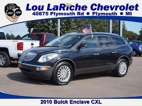 2010 Buick Enclave for sale in Plymouth, MI