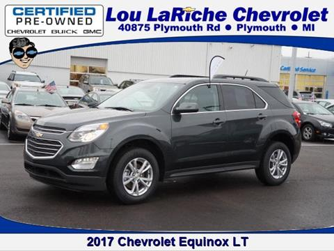 2017 Chevrolet Equinox for sale in Plymouth, MI