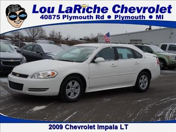 2009 Chevrolet Impala for sale in Plymouth, MI