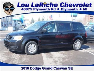2010 Dodge Grand Caravan for sale in Plymouth, MI