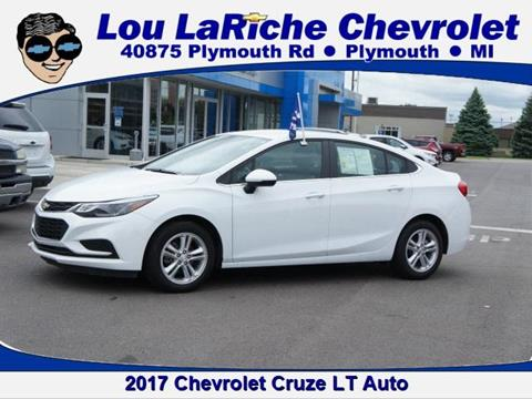 2017 Chevrolet Cruze for sale in Plymouth, MI