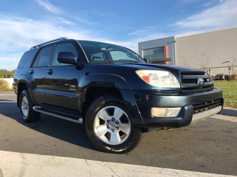 Toyota Runner Limited In Chantilly VA The Automotive Company - 2003 4runner