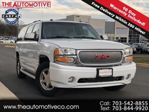 2005 GMC Yukon XL for sale in Chantilly, VA