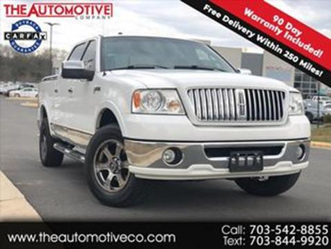 2006 Lincoln Mark LT for sale in Chantilly, VA