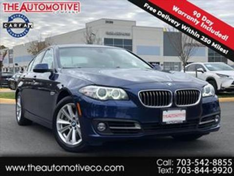 2015 BMW 5 Series for sale in Chantilly, VA