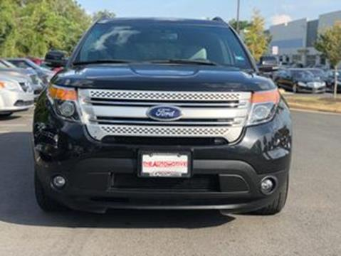2013 Ford Explorer for sale in Chantilly, VA