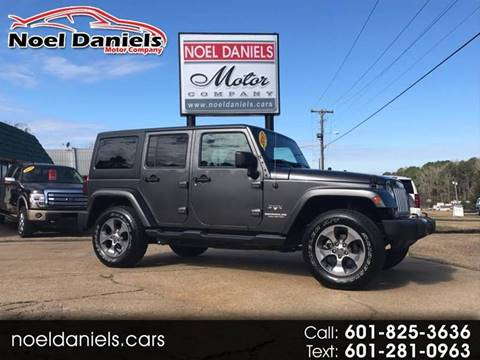 2017 Jeep Wrangler Unlimited for sale in Brandon, MS