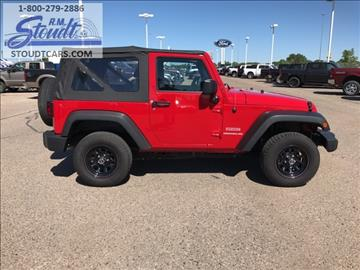 2012 Jeep Wrangler for sale in Jamestown, ND