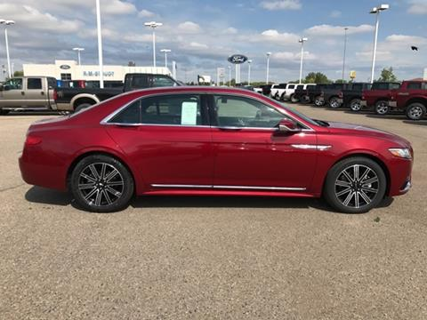 2017 Lincoln Continental for sale in Jamestown, ND