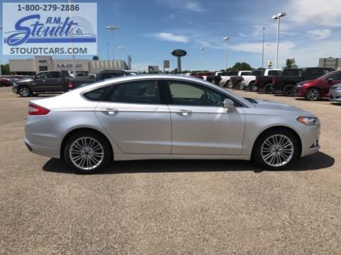 2015 Ford Fusion for sale in Jamestown, ND