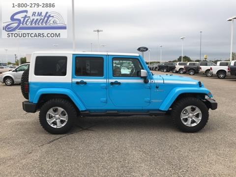 2017 Jeep Wrangler Unlimited for sale in Jamestown, ND