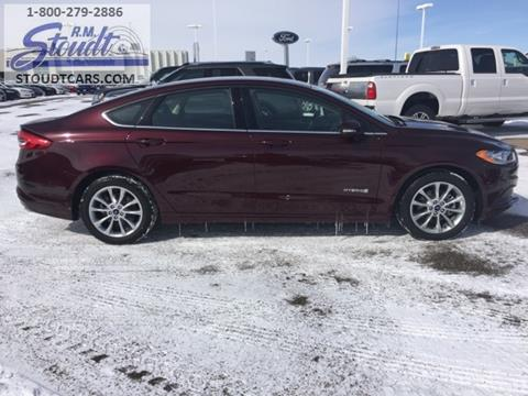 2017 Ford Fusion Hybrid for sale in Jamestown, ND