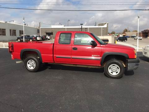 2004 Chevrolet Silverado 2500HD for sale at Westok Auto Leasing in Weatherford OK