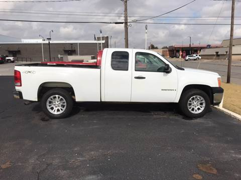 2009 GMC Sierra 1500 for sale at Westok Auto Leasing in Weatherford OK