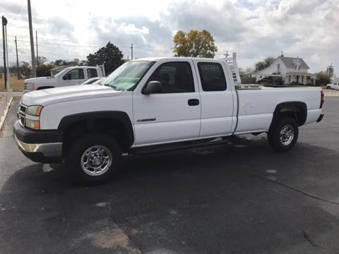 2006 Chevrolet Silverado 2500HD for sale at Westok Auto Leasing in Weatherford OK