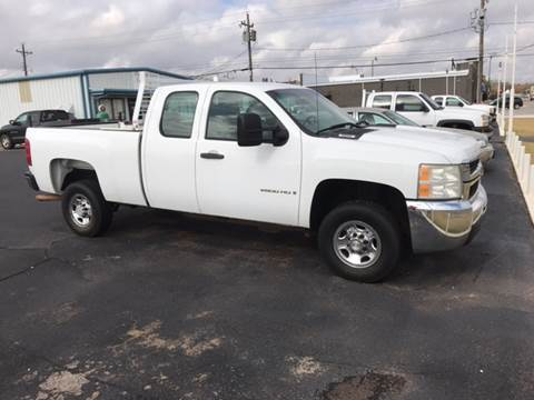 2007 Chevrolet Silverado 2500HD for sale at Westok Auto Leasing in Weatherford OK