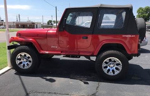 1994 Jeep Wrangler for sale in Weatherford, OK