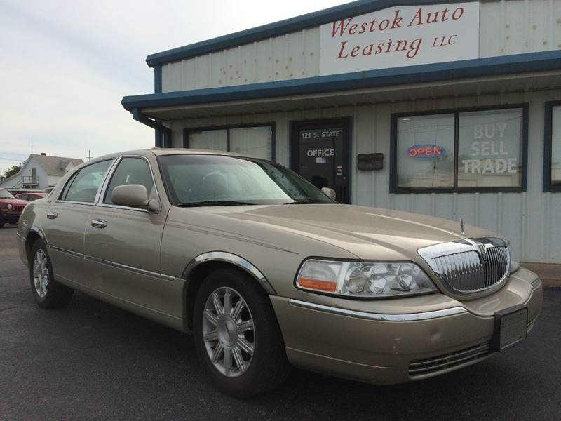 2009 Lincoln Town Car Signature Limited 4dr Sedan - Weatherford OK