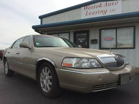 2009 Lincoln Town Car for sale at Westok Auto Leasing in Weatherford OK