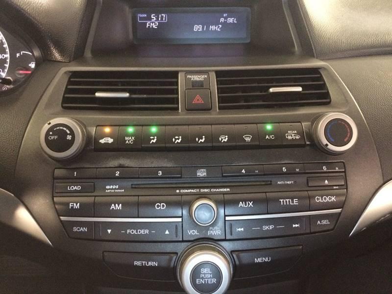 2009 Honda Accord EX 4dr Sedan 5A - Weatherford OK