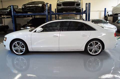 2013 Audi A8 for sale in Costa Mesa CA