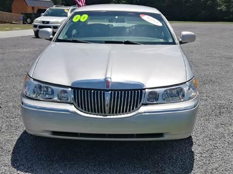 2000 Lincoln Town Car for sale at Davis Family Auto Center in Dillon SC