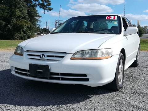 2001 Honda Accord for sale at Davis Family Auto Center in Dillon SC