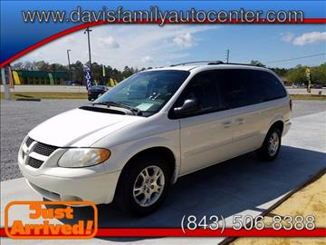2003 Dodge Grand Caravan for sale at Davis Family Auto Center in Dillon SC