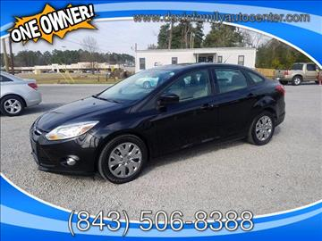 2012 Ford Focus for sale at Davis Family Auto Center in Dillon SC