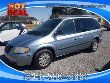 2006 Chrysler Town and Country for sale at Davis Family Auto Center in Dillon SC
