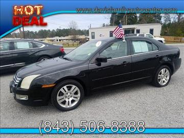 2006 Ford Fusion for sale at Davis Family Auto Center in Dillon SC