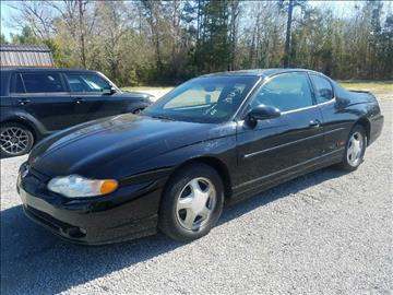 2000 Chevrolet Monte Carlo for sale at Davis Family Auto Center in Dillon SC