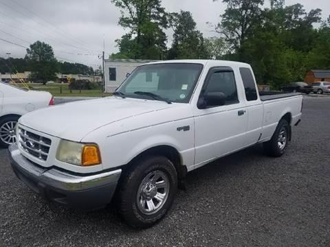 2002 Ford Ranger for sale at Davis Family Auto Center in Dillon SC
