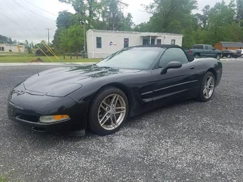 2002 Chevrolet Corvette for sale at Davis Family Auto Center in Dillon SC