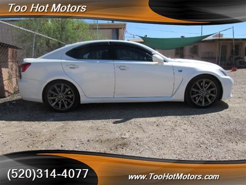 2008 Lexus IS F For Sale In Tucson, AZ
