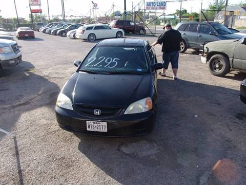 2001 Honda Civic for sale at Autoland in San Antonio TX