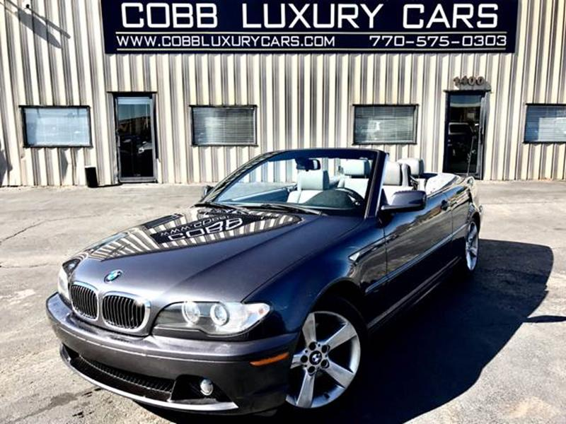 Bmw Series Ci Dr Convertible In Marietta GA Cobb - 2006 bmw 325ci convertible
