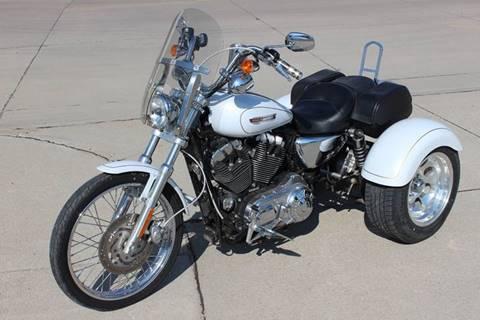 2008 Harley Davidson XL1200C for sale in Wauneta, NE