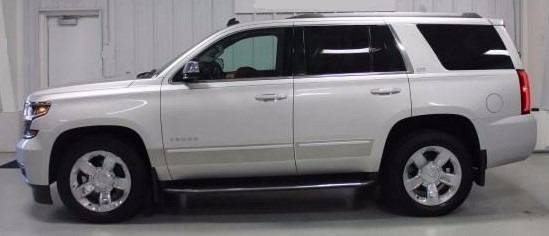 engine used for rwd chevrolet door tahoe sale in metallic ltz silver ice suv clearwater fl