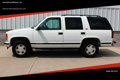 1997 GMC Yukon for sale in Wauneta, NE