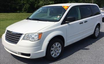 2008 Chrysler Town and Country for sale at The Back Lot in Lebanon PA