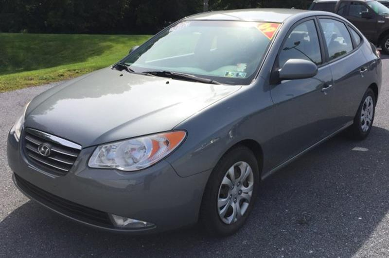 2009 Hyundai Elantra for sale at The Back Lot in Lebanon PA