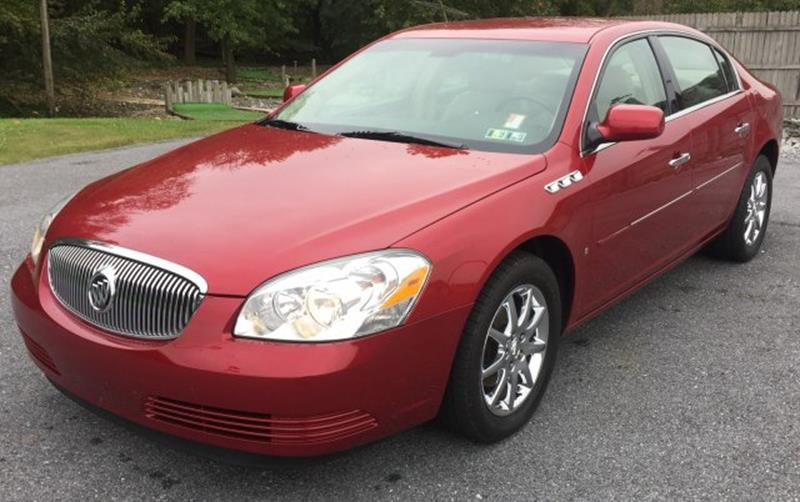 2008 Buick Lucerne for sale at The Back Lot in Lebanon PA