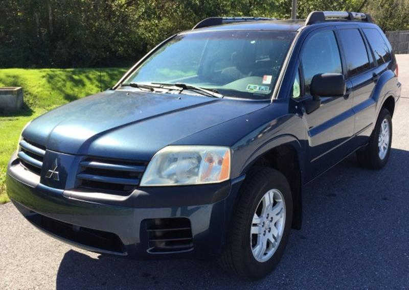 2004 Mitsubishi Endeavor for sale at The Back Lot in Lebanon PA