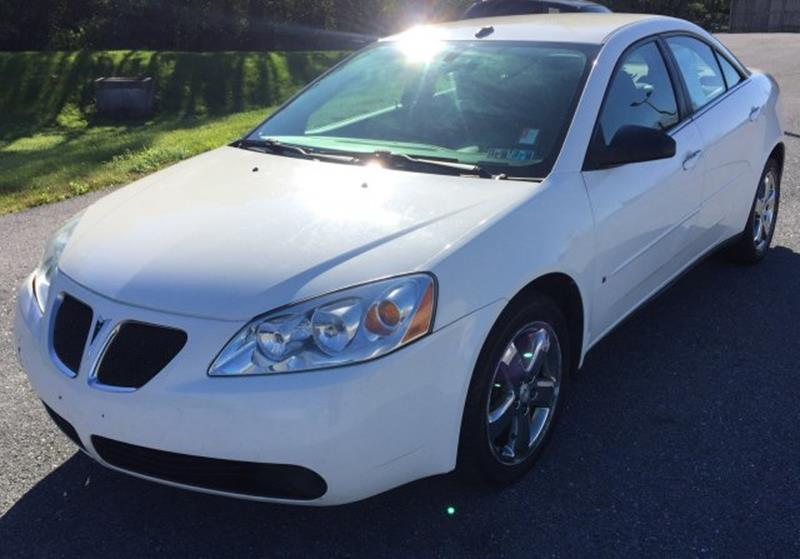 2008 Pontiac G6 for sale at The Back Lot in Lebanon PA